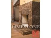 7.Мраморный камин в стиле Хай-Тек