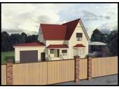Модель загородного дома