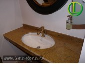 Столешница для ванной из гранита