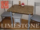 Обеденный стол из гранита Giallo Veneziano